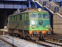 Lokomotywa EU06 Poznań Główny