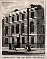 London Ophthalmic Dispensary, Finsbury. Engraving by J. Shur Wellcome V0013172.jpg