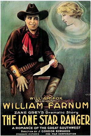 The Lone Star Ranger (1919 film) - Film poster