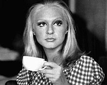 Loretta Goggi nel 1972, all'epoca in cui era soubrette di Canzonissima