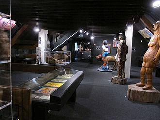 Collection de l'art brut - View, inside the museum (2014).