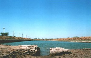 Gujarat - The docks of ancient Lothal as they are today