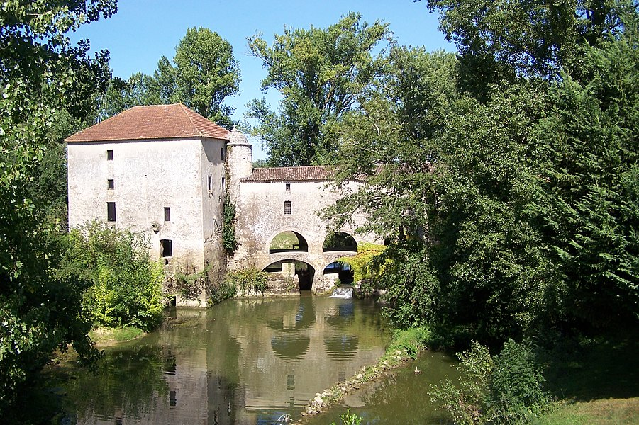 Watermill of Loubens (Gironde, France)
