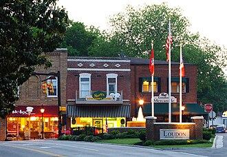 Loudon, Tennessee - Image: Loudon tn 1