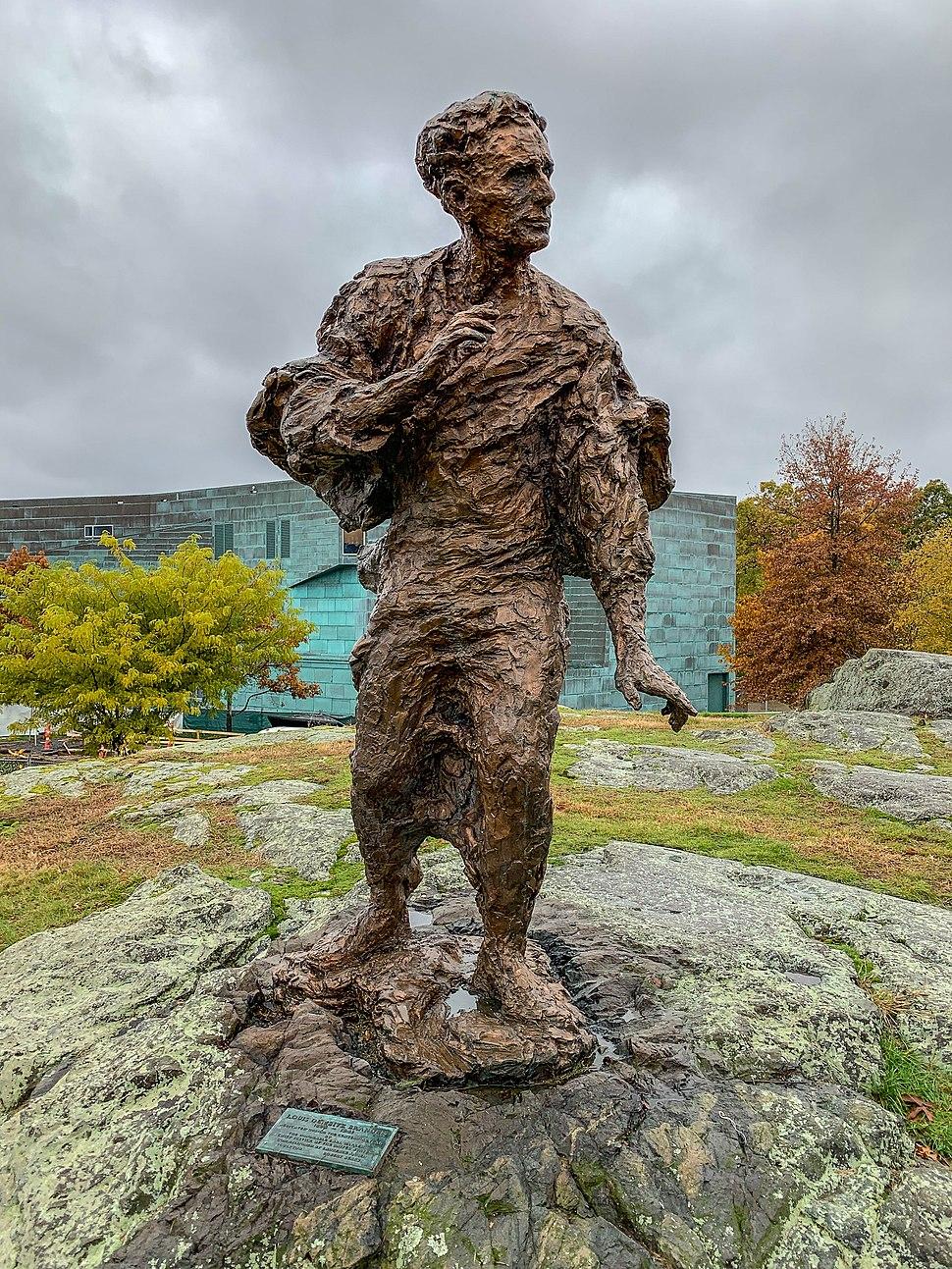 Louis Brandeis statue by Robert Berks