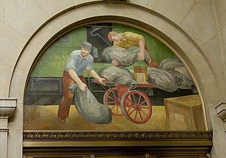 Gene Snyder United States Courthouse - Post office mural