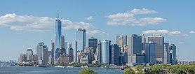 Horizonte de Lower Manhattan
