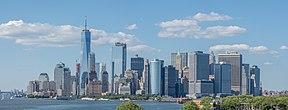 Lagere skyline van Manhattan