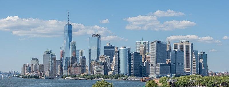 File:Lower Manhattan skyline - June 2017.jpg