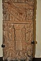 Lower Part - Upright Pillar Showing Architectural Motifs and Other Scenes - Circa 1st Century CE - ACCN 00-I-11 - Government Museum - Mathura 2013-02-24 6081.JPG
