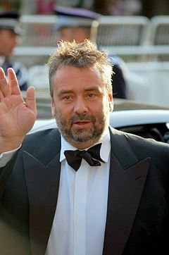 Luc Besson vid filmfestivalen i Cannes 2007