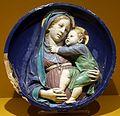 Luca della robbia, madonna col bambino, 1440-50 ca. (fi, coll. priv.).jpg