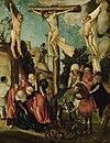 Lucas Cranach the Elder  - Crucifixion of Christ (Kunsthistorisches Museum Wien) .jpg