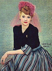 Lucille Ball (1944) fotografia de New York Sunday News.