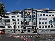 Il quartier generale Lufthansa a Colonia, in Germania.