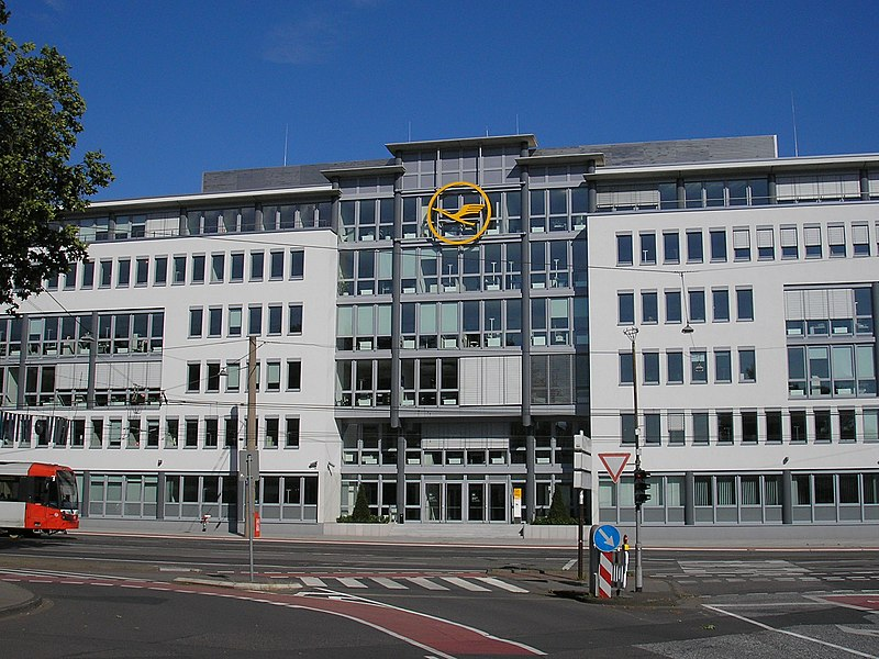 File:Lufthansa headquarters, Cologne, Germany - 20080623.jpg