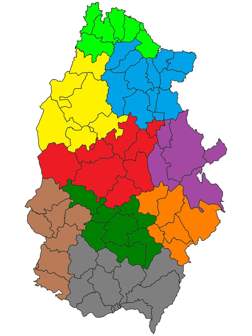 Lugo - Mapa judicial