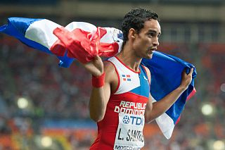Luguelín Santos Dominican sprinter