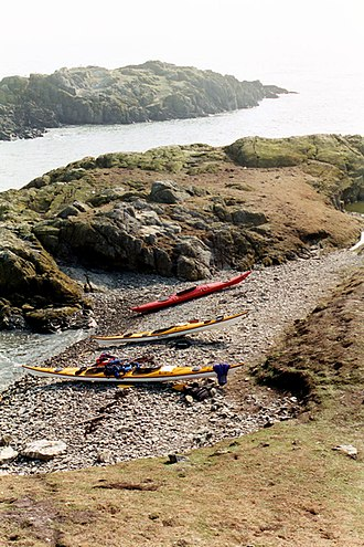 The Skerries, Isle of Anglesey - One of the islets