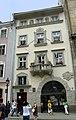 Lwów , Polish , now Lviv , Львов - Rynek 31 - Kamienica Mazanczowska - o renesansowym wygladzie jednak zaprojektowana w 1923 r. przez architekta Bronislawa Wiktora dla rodziny Baczewskich, producentow wodek - panoramio.jpg