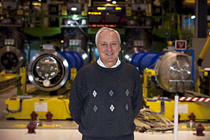 Lyn Evans - Lyn Evans in his role as the LHC Project leader (2008)