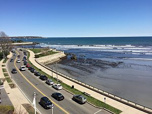 Lynn Shore Drive - Northerly view over Lynn Shore Drive to Swampscott
