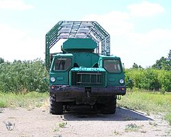 MAZ-543 special purpose truck, Strategic Missile Forces Museum.JPG