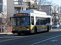 MBTA route 34 bus on Washington Street, March 2016.JPG