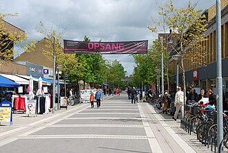 Lillerød - The central road Madsensvej