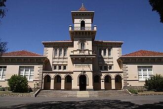 Matthew Flinders Girls Secondary College - Main building of the school