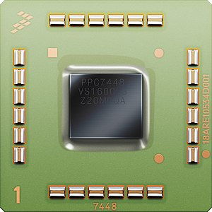 PowerPC e600 - Image: MPC7448