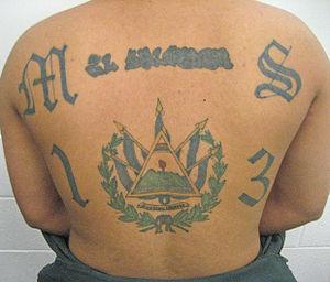 MS-13 tattoo 2