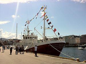 MS Haugefisk in Bergen harbour 02.jpg