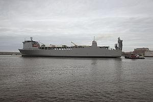 MV Cape Ray (T-AKR-9679) - MV Cape Ray (T-AKR-9679) at Norfolk VA in 2014