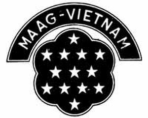 Military Assistance Advisory Group - Emblem of MAAG Vietnam