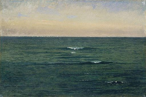 Mackerel Fleet by Winckworth Allan Gay, 1872