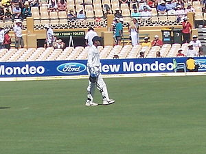 Mahendra Singh Dhoni, Indian cricketer. 4 Test...