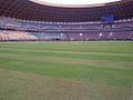 Main Stadion Riau Dengan Rumput Kualitas Yahud ( Pekanbaru Indonesia ) - panoramio.jpg