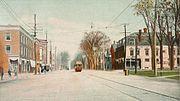 Main Street Looking North, St. Albans, VT