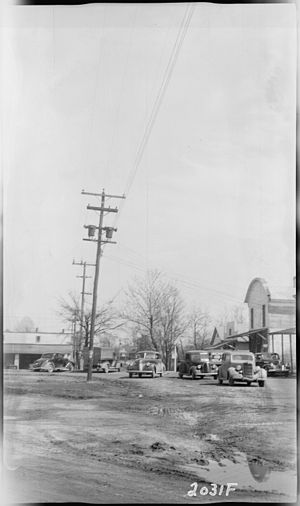 Grand Junction, Tennessee - Grand Junction in 1940