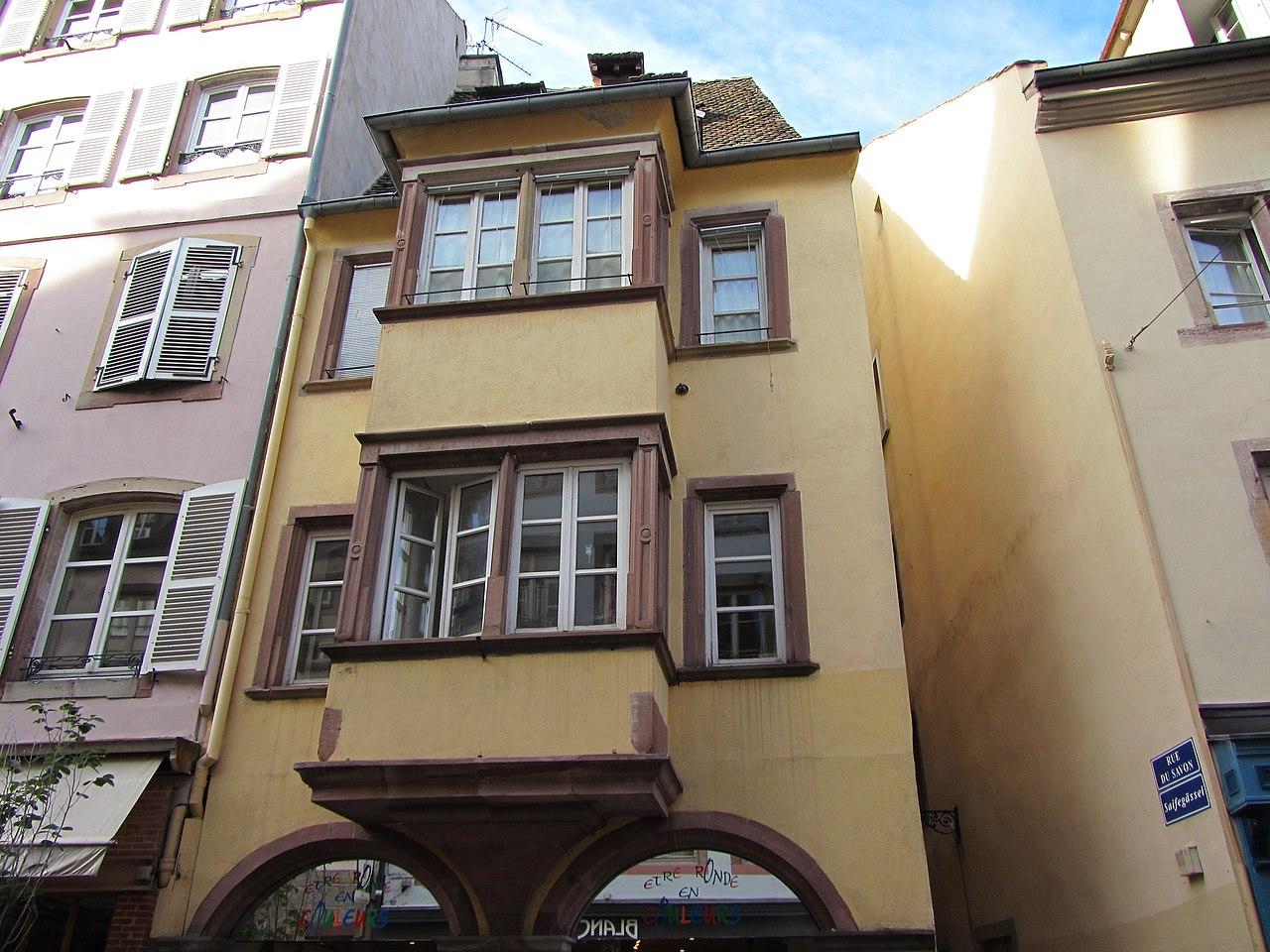 Fichier maison au 89 grand rue wikip dia for Maison de l emploi strasbourg