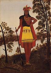 The Oneida Chieftain Shikellamy