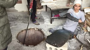 File:Making bread in Armenia.webm