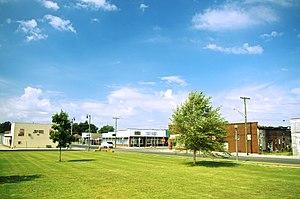 Malden, Missouri - Malden viewed from Cotton Belt Park