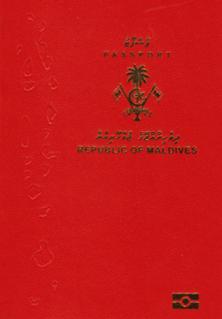 Visa requirements for Maldivian citizens