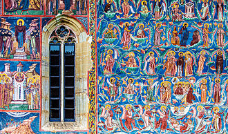 Moldovița Monastery - Frescoes