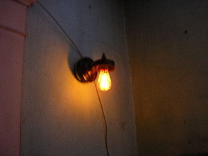 Longest-lasting light bulbs - The Mangum Light Bulb is located in the firehouse in Mangum, Oklahoma