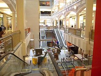 Manhattan Mall - Under renovation