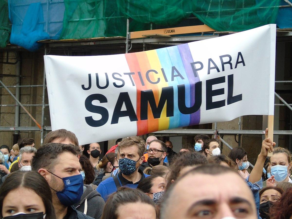 Killing of Samuel Luiz - Wikipedia