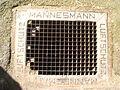 Mannesmann Luftschutzgitter Stuttgart 2007 (Alter Fritz).JPG